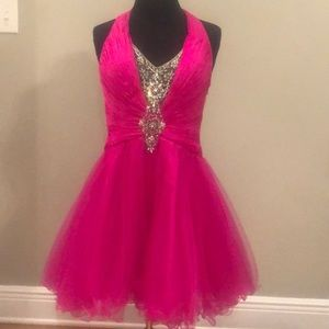 Terani couture cocktail dress size 6